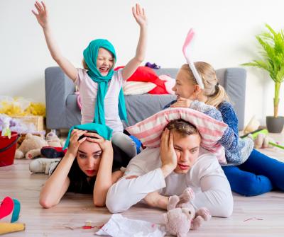 Routine di esercizi a casa per genitori impegnati | Intergym