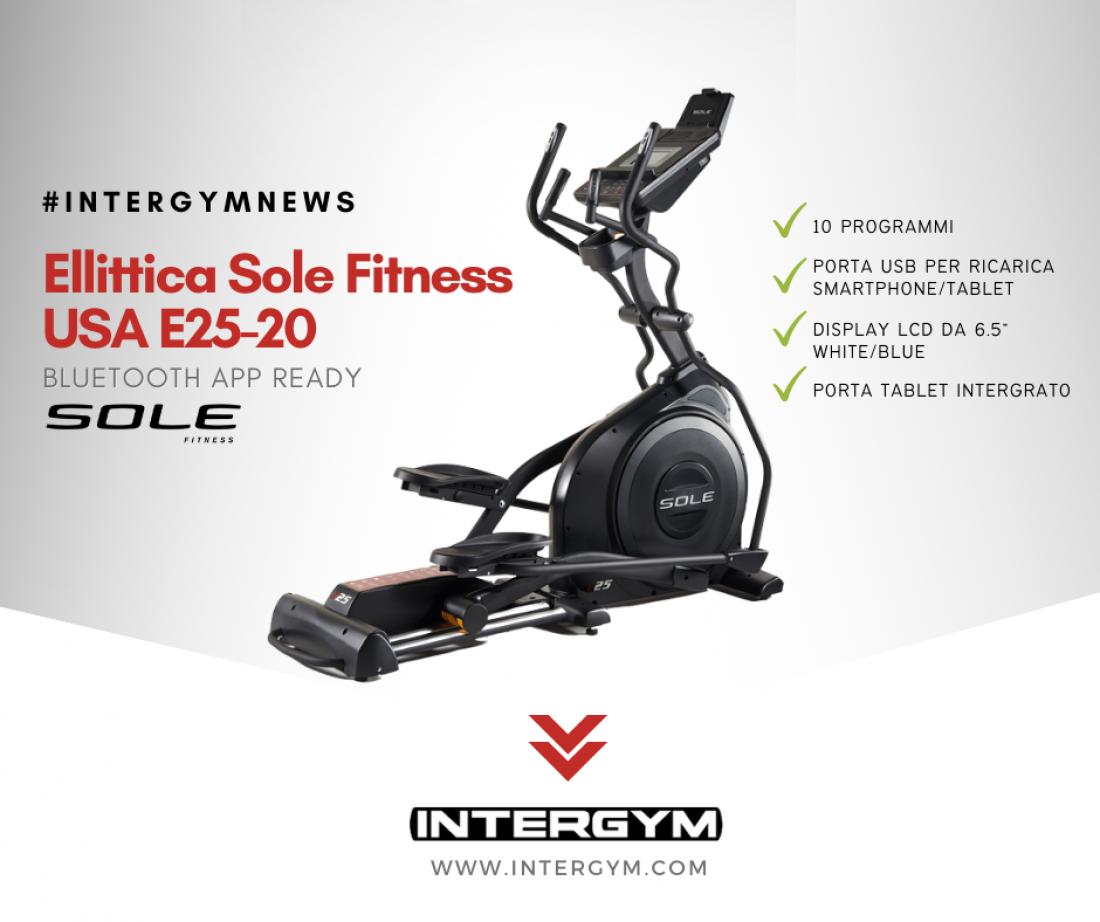 Ellittica Sole Fitness USA E25-20