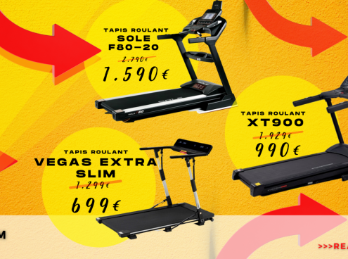 Intergym Summer Sales! Estate e Tapis Roulant, le migliori Offerte!