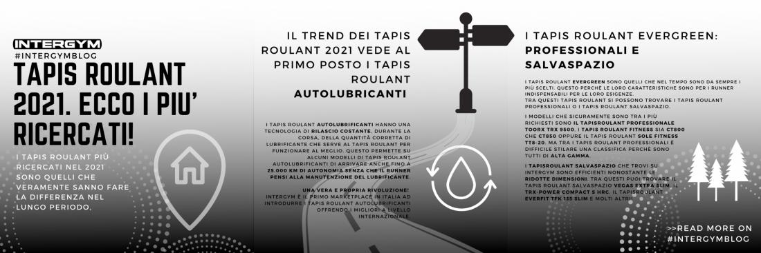 Tapis Roulant 2021. Ecco i più ricercati!