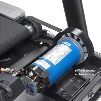 Tapis Roulant XT5 LE HRC -2.5/4.0 hp - 18km/h - 470x1335 mm