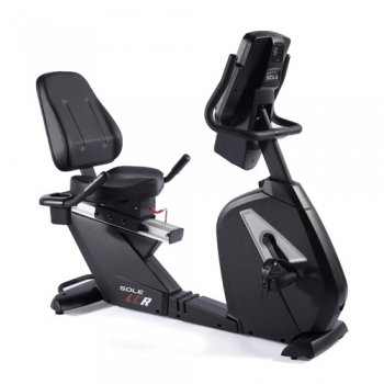 Cyclette professionale recumbent Sole Fitness LCR autoalimentata con Bluetooth