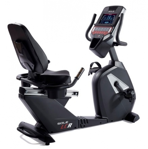Cyclette recumbent professionale Sole Fitness LCR Bluetooth