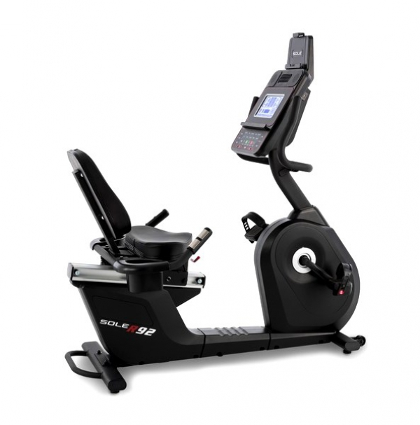 Cyclette recumbent professionale Sole Fitness R92-20 Bluetooth