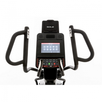 Ellittica Sole Fitness USA E95s-20 a passo variabile e console Bluetooth
