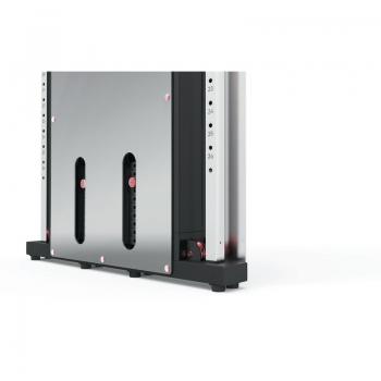 Poliercolina dual cross cable PRX-3500 doppio pacco pesi in acciaio 50 kg cad. salvaspazio