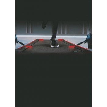Tapis roulant salvaspazio VEGAS EXTRA SLIM BT - Spessore 13.5 cm
