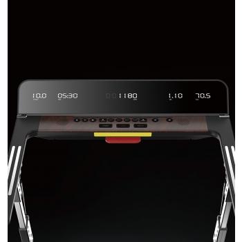 Tapis roulant salvaspazio VEGAS EXTRA SLIM Wood Line - Spessore 13.5 cm