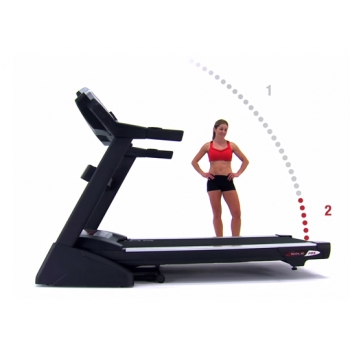 Tapis roulant Sole Fitness F80 2016 3.5/6.5 Hp 20km/h 585x1525 / fascia cardio