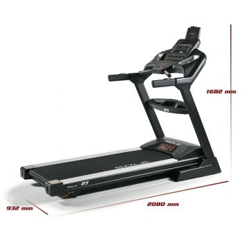 Tapis Roulant Sole Fitness F85-20 Bluetooth 4.0/7.0 Hp 22km/h 585x1525 APP ready