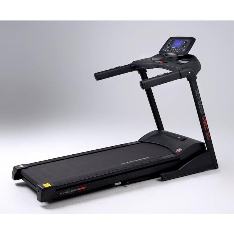 Tapis roulant XT900 2020 BlueTooth HRC 3.5/6.5 HP 22km/h 558x1520 Fascia Cardio Full Black